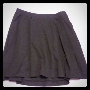 Old Navy Gray A-Line Skirt